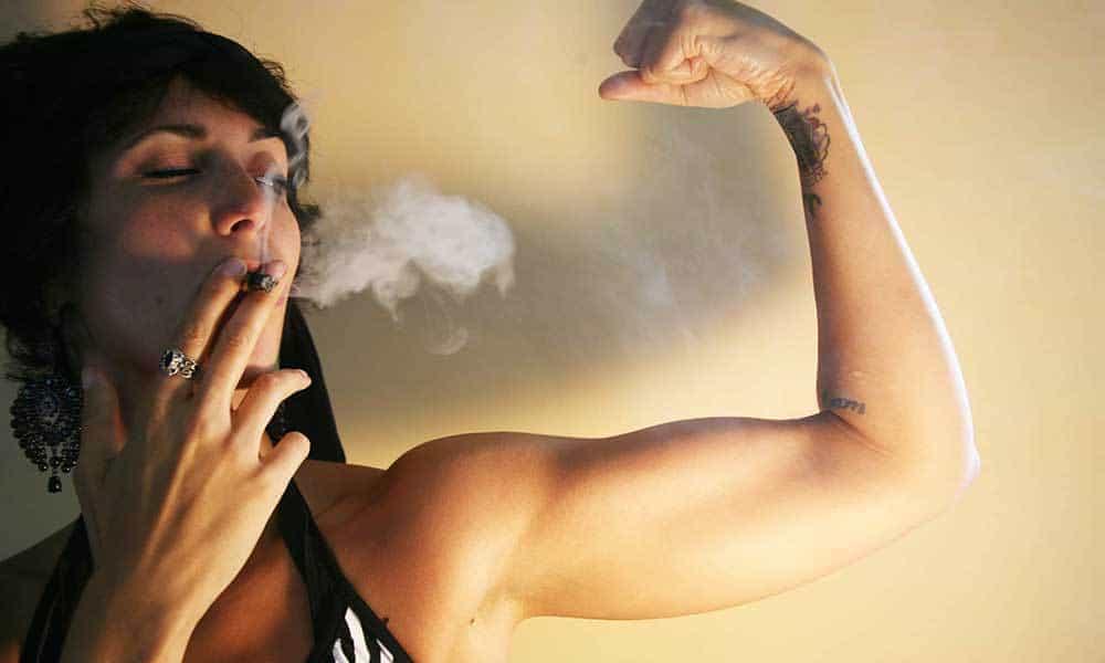 Fumar marihuana y hacer ejercicio