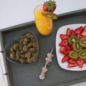 comer marihuana